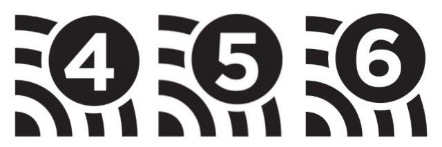 Wi-Fiのロゴマーク